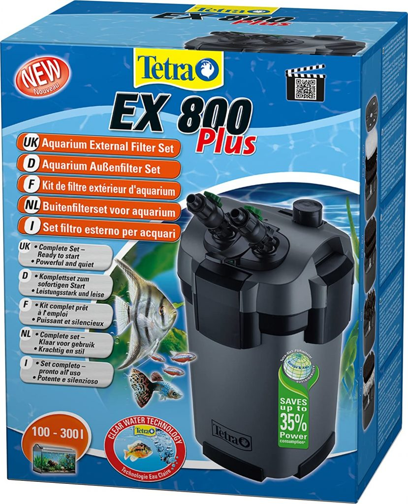 filtre externe tetra ex 800
